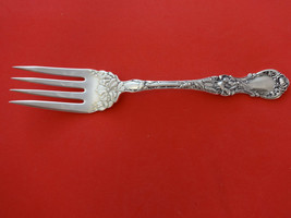"""Floral by Wallace Plate Silverplate Cold Meat Fork 8"""" - $20.79"""