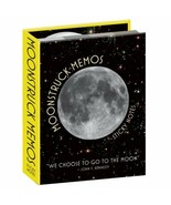 Moonstruck Memos Sticky Notes Post-Its SEALED UNUSED We Choose To Go To ... - $6.89