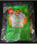 TY Teenie Beanie #9 - 1999 McDonald's - Claude the Crab Retired - $2.47