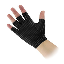 Women Workout Gloves, Bally Total Fitness Gym Workout Gloves Ladies, Small-med image 3