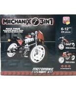 Block Tech Mechanix 3-in-1 Motorbike Custom Kit 235 Pieces - $14.84