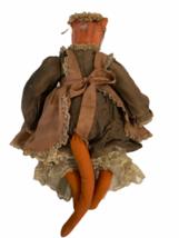 "Vintage Michael Berger Figure Figurine Art Sculpture Orange Cat Doll 21"" image 10"
