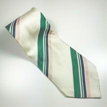 """Giorgio Armani Multi-Color Stripe 100% Silk Tie 57"""" Long X 3.75"""" Wide - $14.62"""