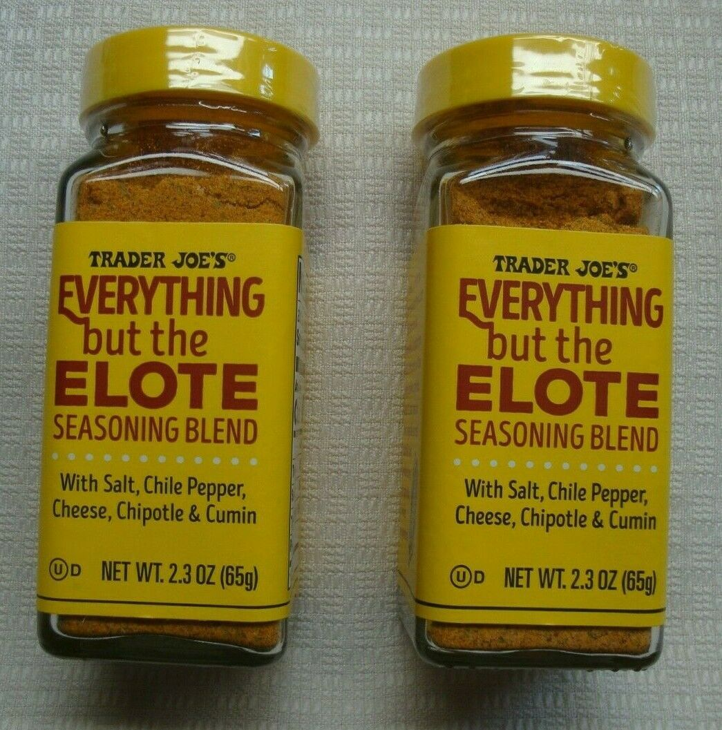 TRADER JOE'S EVERYTHING BUT THE ELOTE SEASONING BLEND - QTY 2 - $15.83