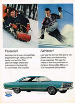 Vintage 1967 Magazine Ad Ford Fairlane 500 Big On Roominess Low On Price - $5.93
