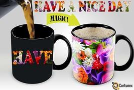 Heat Sensitive Mug | Color Changing Coffee Mug | Funny Coffee Cup | Have... - $12.69