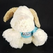 Bedside Healers Healing Plush Animals Heart Nose Puppy Dog Hangs On Hospital Bed - $14.84