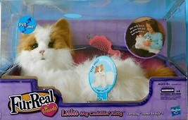 "FURREAL FRIENDS LULU MY CUDDLIN' KITTY CAT She ""Come to Life"" Hasbro MIB - $118.31"