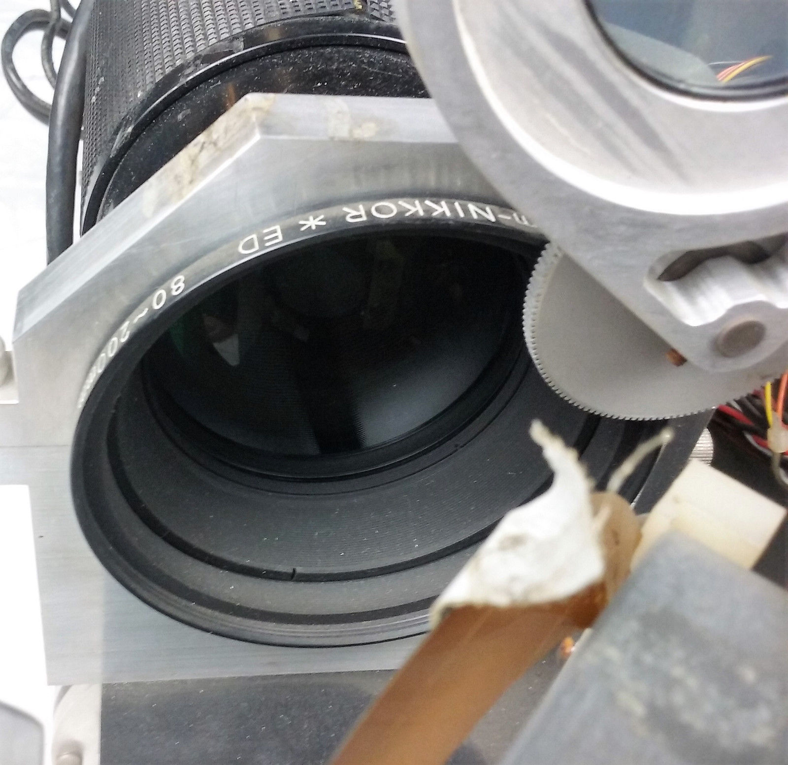 Newport Optical Mount 600A-4 Nikkor 80-200mm Lab Equipment Laser Photonics Lens image 8