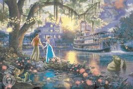"""Counted Cross Stitch Princess and the Frog Kinkade - 35.43"""" x 23.71"""" - L497 - $3.99"""