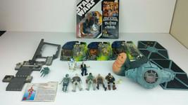 Star Wars PotF2 Lot 90s 11 Figures, Parts, + 30th Anniversary Vader - $29.02