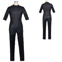 Fantastic Four Invisible Woman Black Onesies Tights Cosplay Costume - $142.55