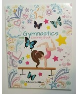 Gymnastics Coloring Book NEW by Krazed Scribblers Tumbling Sports Girls - $9.99