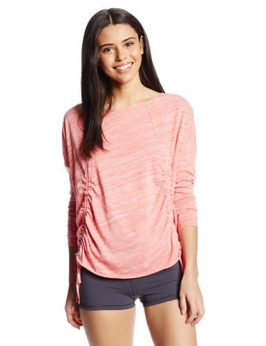 O'Neill 365 Women's Dream Pullover Top, Hot Coral, Large
