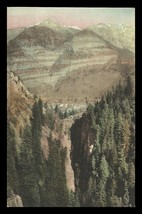 Ouray Box Canon Postcard Colorado Ouray Looking Thru Box Canon Albertype... - $17.99