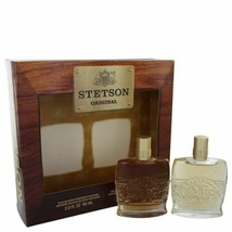 STETSON by Coty Gift Set -- 2 oz Collector's Edition Cologne + 2 oz Coll... - $21.52