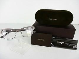 Tom Ford TF 5364 (020) Striated Grey  53 x 15 140 mm Eyeglass Frames - $89.05