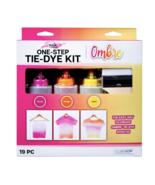 Tulip One-Step Tie-Dye Kit, Ombre, (Fuchsia, Orange and Yellow), 19 Pieces - $17.95