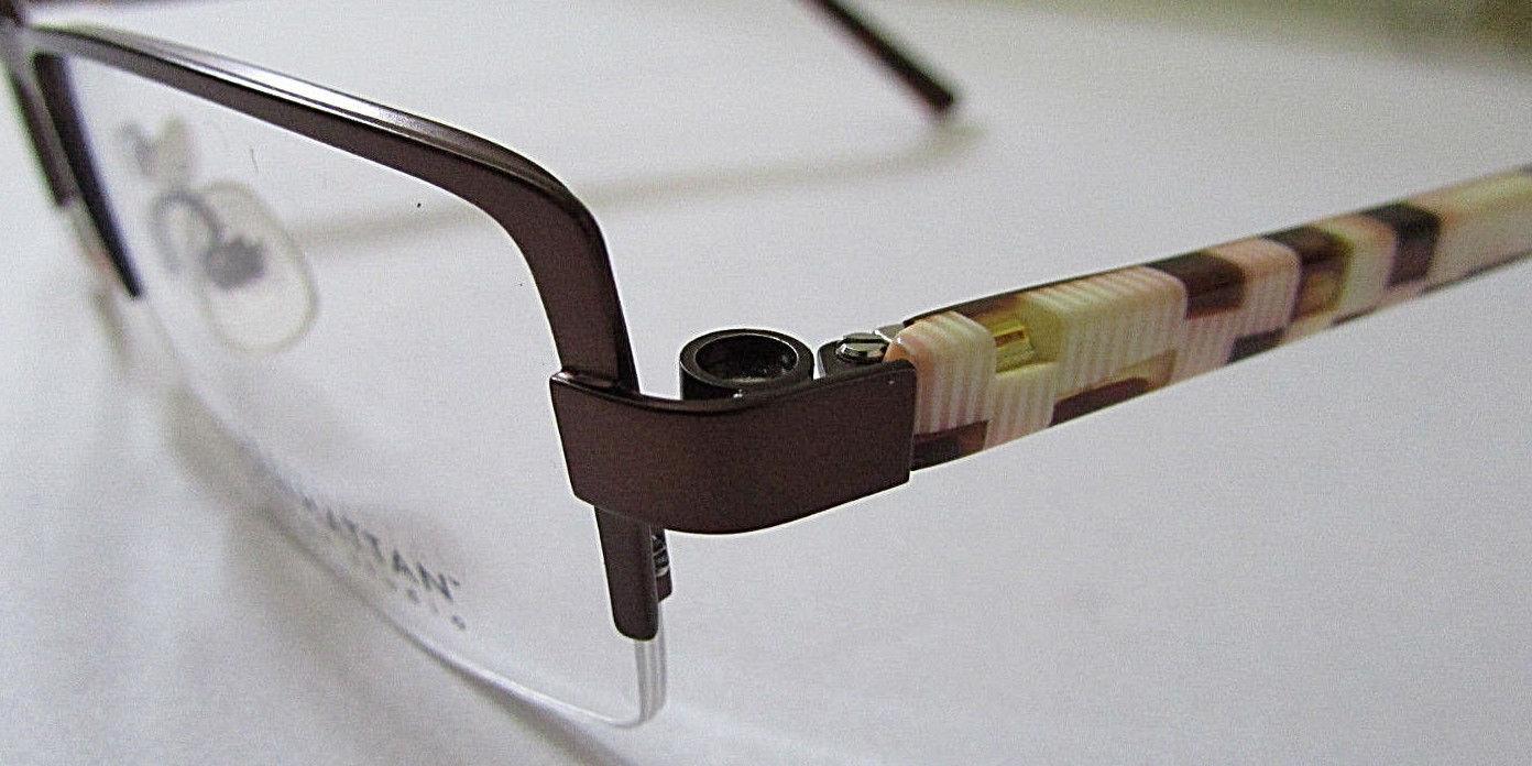 WOMEN'S MANHATTAN DESIGN STUDIO EYEGLASSES FRAMES  RX GLASSES 49-18-135 MM image 4