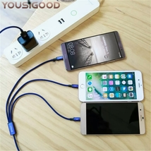 iPhones/Androids  3 in 1 Micro USB 1.2M Cable Universal fast Charge universal - $14.99