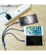 iPhones/Androids  3 in 1 Micro USB 1.2M Cable Universal fast Charge uni... - $14.99