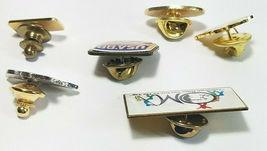 6 Vintage Lapel Pins 1988 Usa Olympics Badger Fire Fighter And More See Photos image 3