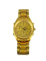 Sieko Mens Watch Model 7T32-7A49 Wrist Watch Tested and Works - $124.99