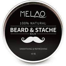 Beard Balm Softener Cream & Growth Conditioner & Leave In Conditioner & Moisturi image 2