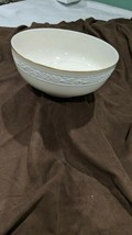 Gorham Ariana Embossed Salad Bowl Plate Fine China made in West Germany - $14.85