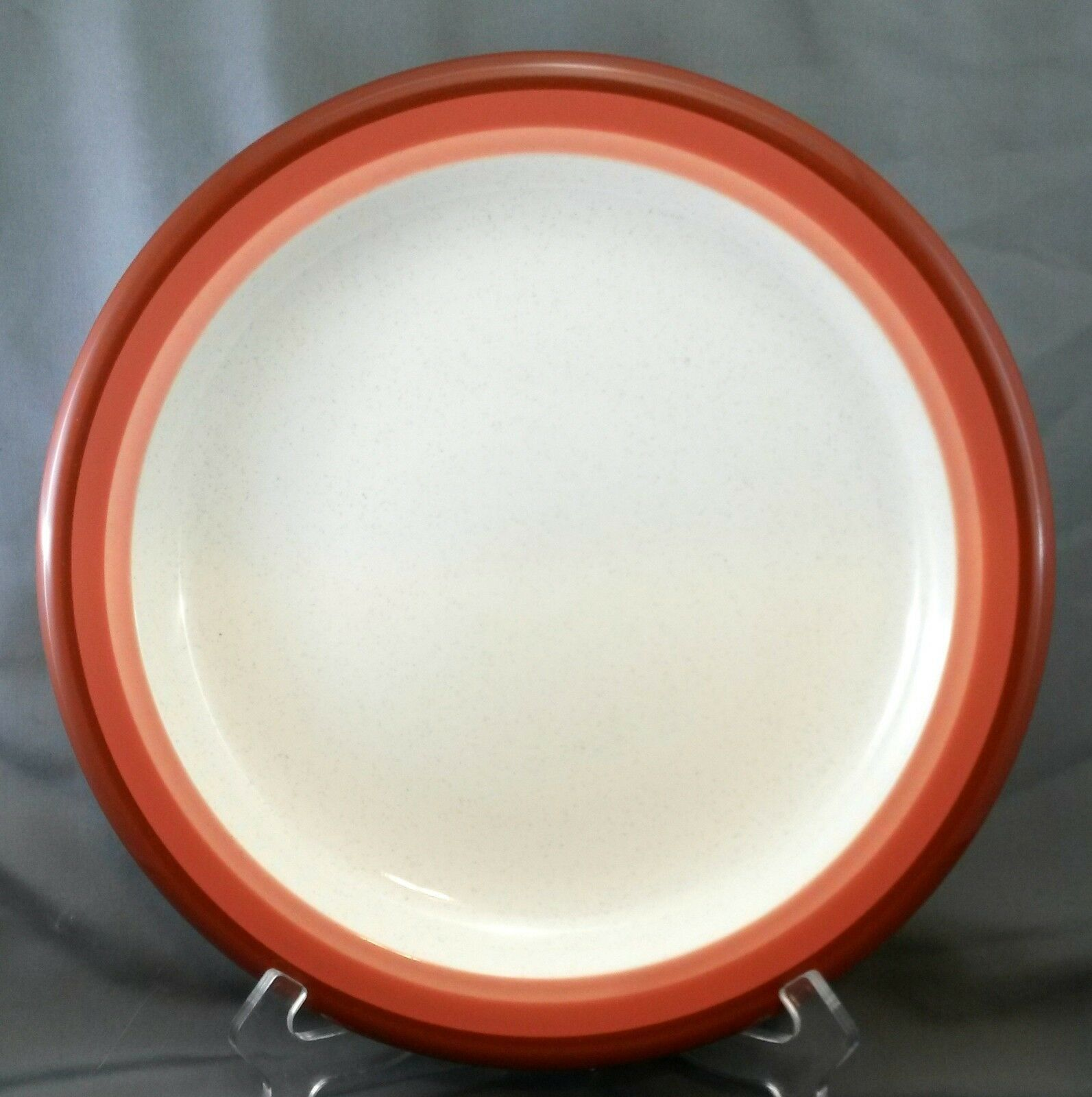 "Primary image for Mikasa Trio Terracotta Chop Plate Designer Circles 12"" Color Complements C-2855"