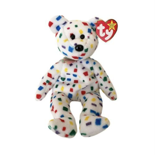 TY Beanie Baby 2000 Ty2K The Retired Y2K Millennium Bear with tags  - $12.00