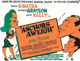 Anchors Aweigh - 1945 - Movie Poster - $9.99+