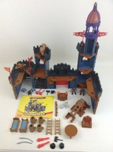 Battle Castle Playset Fisher Price Imaginext w Figures Accessories 98% C... - $66.78