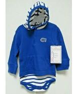 NCAA Florida Gators Royal Blue Hooded Creeper Gator Logo Two Feet Ahead - $22.95