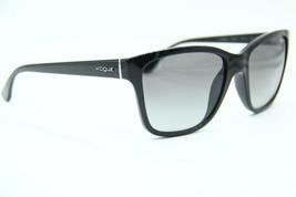 NEW VOGUE VO 2896-S W44/11 BLACK SUNGLASSES AUTHENTIC FRAME RX 54-17 - $46.55