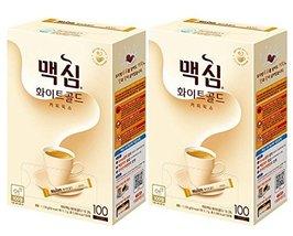 Maxim Coffee Mix, Instant Coffee (?? ?? ?? ??) 100 sticks/pack (White Go... - $54.40