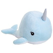"Room101 Narwhal Stuffed Animal Plush Blue 12"" - $16.82"