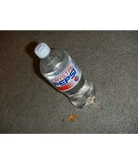 Rare Full Crystal Pepsi Clear 20oz Bottle Limited Time EXP MARCH 17 2017... - $4.85