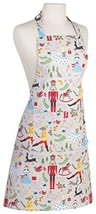 Now Designs Basic Cotton Kitchen Chef's Apron, Nutcracker - $26.14