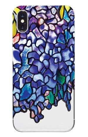 Louis Comfort Tiffany Wisteria Apple iPhone X Shock Absorbent Case