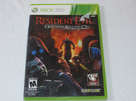 Resident Evil Operation Raccoon City Microsoft Xbox 360, 2012 video game - $29.69