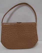 REXALL I. Magnin Ostrich Handbag Vintage  - $134.99