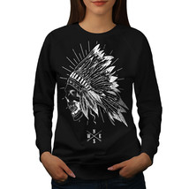 Apache Skull Head Fantasy Jumper USA Native Women Sweatshirt - $18.99