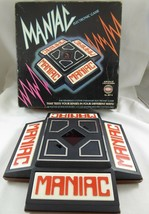 Vintage 1976~MANIAC~ELECTRONIC Game~Ideal~Works! - £10.86 GBP