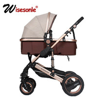 Wisesonle baby stroller 2 in 1 stroller lie or damping folding lightweig... - $399.00