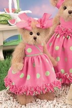 "Bearington Bears ""Pinky Polkadots"" 10"" Plush Bear- #143157 - NWT- 2008 - $29.99"