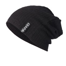 Men Women Baggy Warm Crochet Winter Wool Knit Ski Beanie Skull Slouchy C... - $11.50