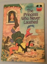Vintage Disney Book The Princess Who Never Laughed Goofy Hardback - $6.92