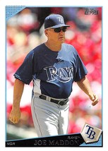 2009 Topps #216 Joe Maddon > Tampa Bay Rays - $0.99