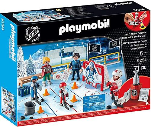 Playmobil NHL Advent Calendar - Road to The Cup, Multicolor
